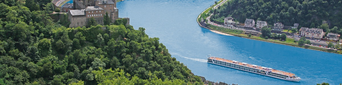 שייט בנהרות הריין והמוזל בספינת הפאר Amadeus Silver III