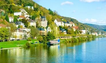 טיולי שייט מאורגנים בנהר הריין והיער השחור