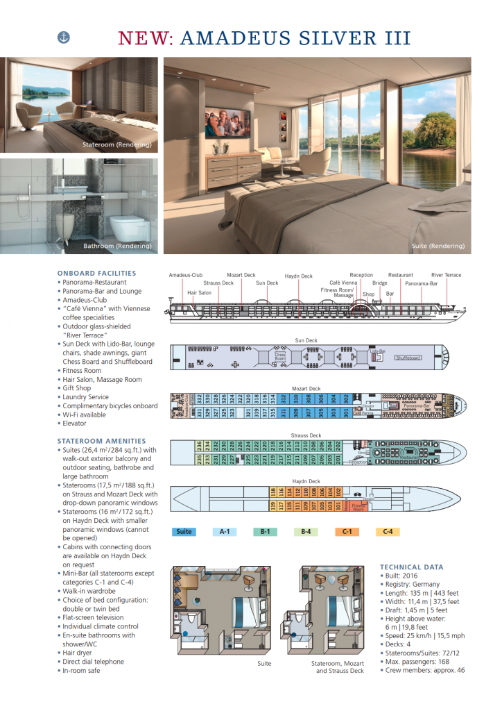 Silver III Deck Plan