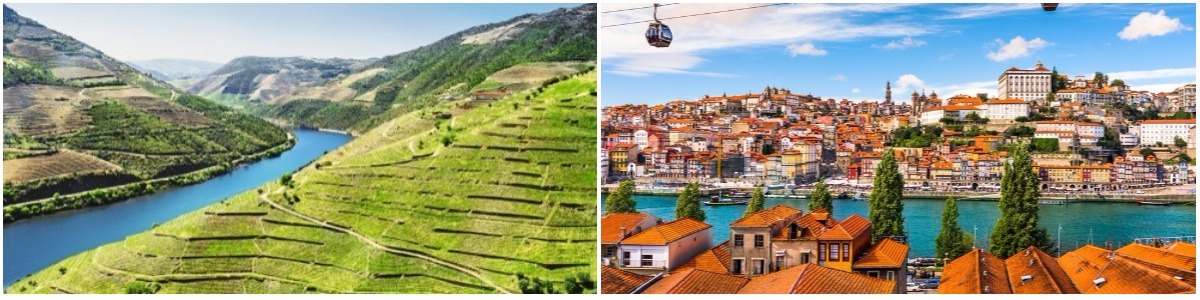 טיול מאורגן לפורטוגל ושייט בדואורו